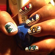 """Stripe nails """")"""