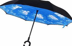 Candora Upside Down Reverse Umbrella, Windproof Outside Folding Double Layer Inverted, Self Standing Inside- No description (Barcode EAN = 0689719844626). http://www.comparestoreprices.co.uk/december-2016-week-1/candora-upside-down-reverse-umbrella-windproof-outside-folding-double-layer-inverted-self-standing-inside-.asp