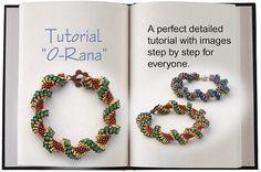 Jewelry Tutorial.... O-Rana ... O-Bead Bracelet O-Bead by SeeBead