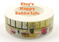 Kitchen Window  Japanese Washi Masking Tape  11 by zakkalover