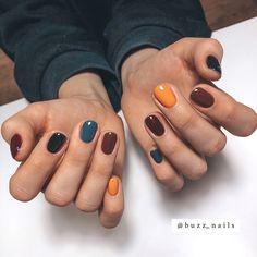 Dream Nails, Love Nails, My Nails, Nail Manicure, Pink Nails, Manicure At Home, Fall Gel Nails, Nail Polish, Halloween Nail Colors