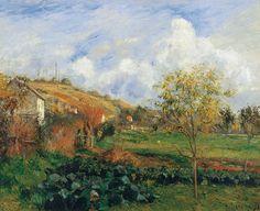 Landscape at Pontoise, Camille Pissarro
