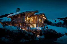 Dosis Arquitectura: Chalet de lujo en Megève, Alpes franceses.