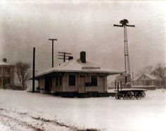 Collierville, Tennessee Depot - 1948