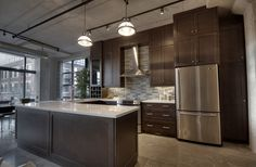 Toronto Lofts, Quartz Counter, Bedroom Office, Built Ins, Car Parking, Lockers, The Unit, Balcony, Kitchen
