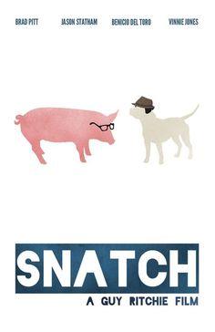 Minimalist Movie Poster: Snatch by video-massacre