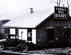 Turkey Hill Dairy's first processing plant (1935).