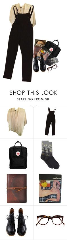 """""""BASIC ART HOE LOOK"""" by fancy-fox ❤ liked on Polyvore featuring Vince, ASOS, Fjällräven, HOT SOX and Cutler and Gross"""