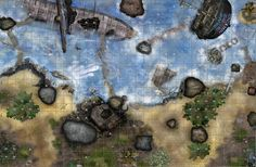 Island of the Sirens D and D Map by robbdaman.deviantart.com on @DeviantArt