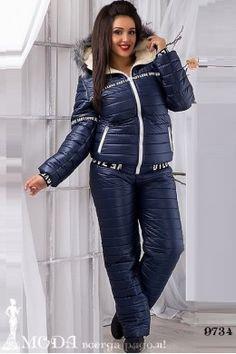 Лыжный костюм для полных 9734 Лыжные костюмы и комбинезоны оптом по низким ценам Leather Jacket, Jackets, Fashion, Studded Leather Jacket, Down Jackets, Moda, Leather Jackets, Jacket, Fasion