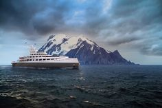 Explorer Yacht, Expedition Yachts, Yacht Design, Ships, Mountains, Nature, Travel, Yachts, Boats