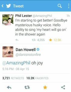 I love how Dan's icon is exactly the face he would pull saying that!