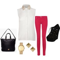 cute and edgy outfit