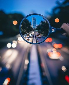 Una idea maravillosa que probar en una escapada fotográfica por la ciudad.