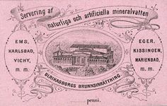 Apothecary mineralwater. Helsinki Finland 19th century