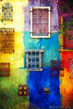 Wall, Color, Windows    by Vincent Liu