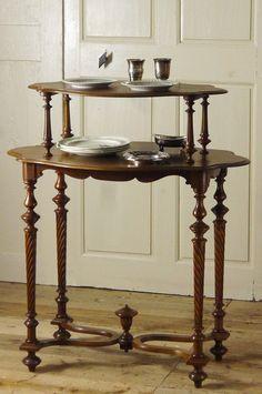 アンティーク サービステーブル(ダムウェーター)  French Antique Dumb Waiter Table