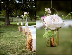 Hay For Wedding Seating