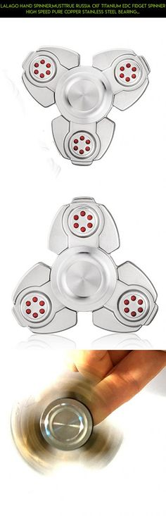 Lalago Hand Spinner,Musttrue Russia CKF Titanium EDC Fidget Spinner High Speed Pure Copper Stainless Steel Bearing ADHD Focus Anxiety Relief Toys (color 1) #products #fpv #kit #racing #parts #gadgets #drone #spinner #camera #shopping #plans #tech #ring #technology #titanium