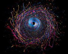Black Hole project by Fabian Oefner
