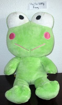 Build A Bear  Sanrio Hello Kitty  KEROPPI FROG Limited Edition Retired BABW  SB3 #BuildaBear #AllOccasion