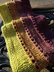 Keep your cool as you knit this lovely cowl in 4 coordinating or contrasting colors of your favorite DK weight yarn!