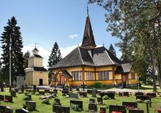 The Lutheran Church Perho, Central Ostrobothnia province of Western Finland - Keski-Pohjanmaa