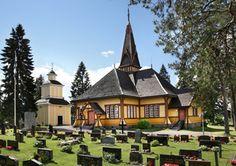 The Lutheran Church Perho, Central Ostrobothnia province of Western Finland - Keski-Pohjanmaa
