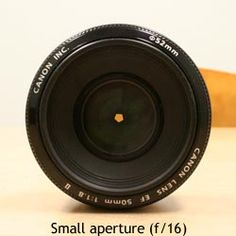 Aperture and Shutter Speed Explained :: FaceTheLight.com