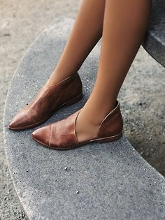 Free People On The Move Slip-On Flat at Free People Clothing Boutique