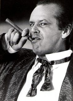 Jack Nicholson as Daryl Van Horne - 'The Witches of Eastwick', 1987, directed by George Miller.
