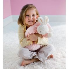 Snuggle Bunny by Bunnies by the Bay -- available in pink and blue