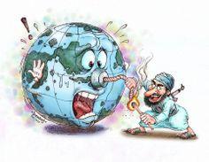 Safe Earth... Very nice illustration. Courtesy: Jerameel Lu