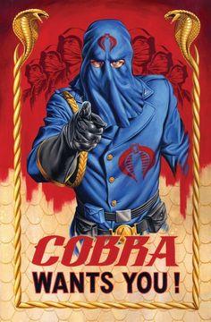 Jason Edmiston : Cobra Poster