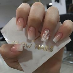 Elegant Nails, Classy Nails, Stylish Nails, Cute Acrylic Nail Designs, Best Acrylic Nails, Nails Today, Lace Nails, Wedding Nails Design, Baby Boomer