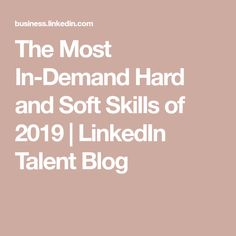 The Most In-Demand Hard and Soft Skills of 2020 Cloud Computing, Emotional Intelligence, Blog, Dreams