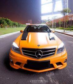 Mercedes C63 AMG...