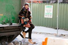 Model Irene Kim.  NYFW Fall 2015 street style