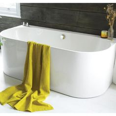 Waters I-Line Strait x 800 x 560 high Back-To-Wall Bath Image Bath Water, Water Me, Interior Design Studio, Bathroom Interior Design, Bathroom Designs, Bathroom Ideas, Small Bathroom Plans, Back To Wall Bath, Master Bath Remodel