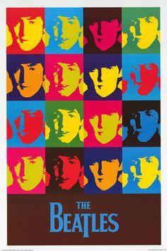 "John Lennon, Paul McCartney, George Harrison, and Ringo Starr really ""pop"" from…"