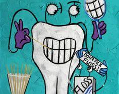 Diente oficina de anatomía Dental impresiones dientes dentista