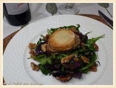 Ensalada de Queso Rocamadour ... y Rocamadour