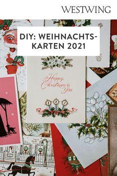 In der Vorweihnachtszeit gehört das Verpacken der Geschenke zu unserer absoluten Lieblingsbeschäftigung. Aber nicht nur das Kleben, Binden und Stempeln auf Geschenkpapier macht uns große Freude. Denn auch außergewöhnliche Weihnachtskarten basteln steht bei uns ganz oben auf der To-Do-Liste!/Westwing Weihnachtskarte selber basteln gestalten mit Kindern modern kreativ einfach Tannenbaum christmas card DIY xmas 2021 new year aquarell ideas design kids Weihnachten Advent Diy Xmas, Happy Christmas Day, Day Wishes, Of Wallpaper, Annie, Seasons, Free, Advent, Envelope