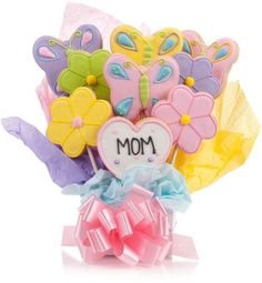 Mothers Cookie Bouquet