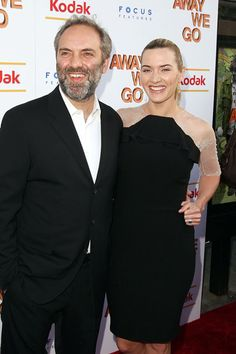 Sam Mendes & Kate Winslet    In 2008, three years prior to their split, the couple worked together on Revolutionary Road -- which earned Kate a Golden Globe Award for Best Actress in a Drama, while Sam was nominated for Best Director.
