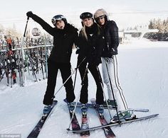 Princess Olympia of Greece spent New Year's in Aspen, Colorado, with friends, including Kyra Kennedy (...
