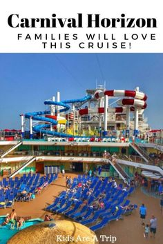 Carnival Horizon Families will love this cruise. If your family is looking for a fun vacation, why not take a southern Caribbean cruise? Here is why families will love a Carnival Horizon Cruise. - Kids Are A Trip #Caribbean #cruise #familytravel #Kidsonacruise