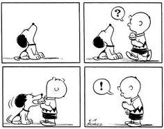 Snoopy Steals Ice Cream. June 17, 1954
