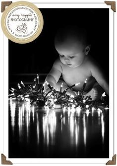 Bebê com Estilo: Idéias de fotos para o cartão de Natal