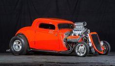 HotRod Supercharged Chrysler Hemi
